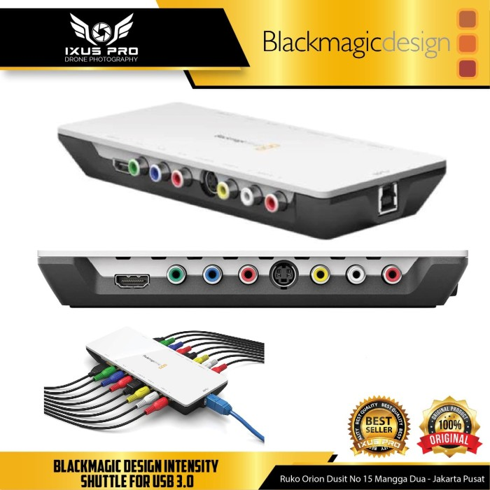 Jual Blackmagic Design Intensity Shuttle For Usb 3 0 Jakarta Pusat Ixuspro Tokopedia