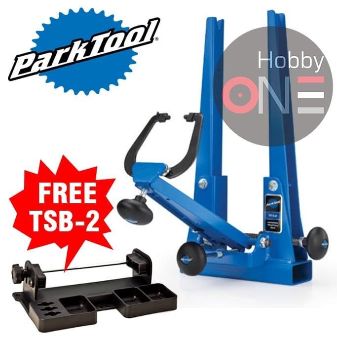Foto Produk Park Tool TS-2.2P TSB-2 POWDER COATED PROFESSIONAL WHEEL TRUING STAND dari HobbyOne
