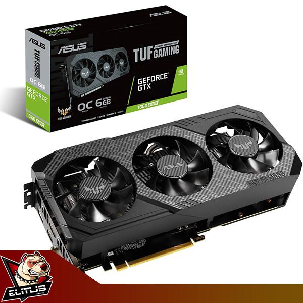 Foto Produk VGA Asus TUF Gaming NVIDIA GTX 1660 Super 6GB GDDR6 OC 3 FAN dari ELITUS GAMING