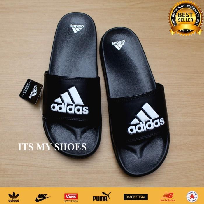 Foto Produk Sandal Slop Pria Adidas Adilette-Hitam-Madein Indonesia - 40 dari IT'S MY SHOES JAKARTA