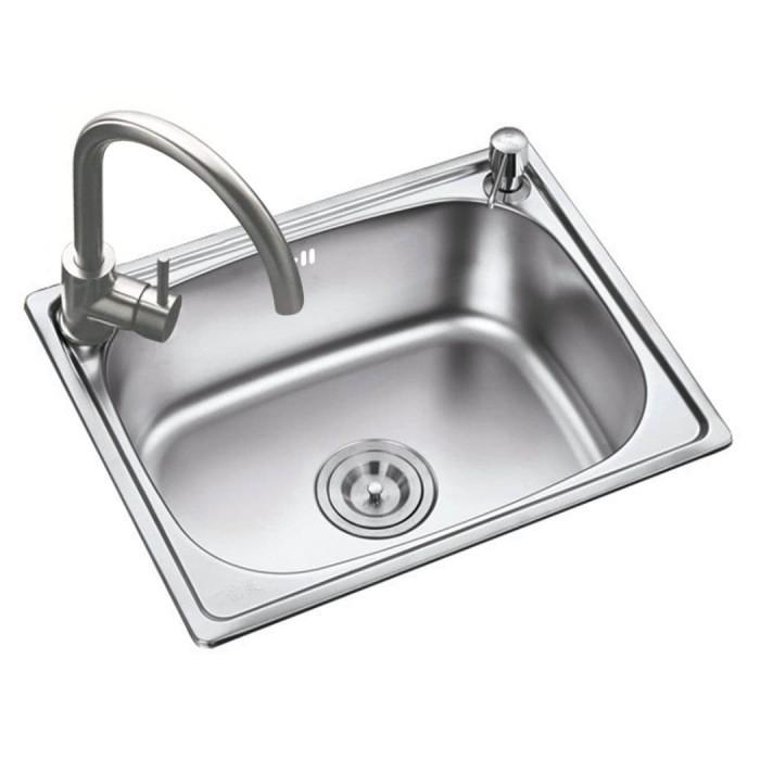 Foto Produk RENO BCP Kitchen Sinks Model 4835-A tempat cuci piring dari RajaLED