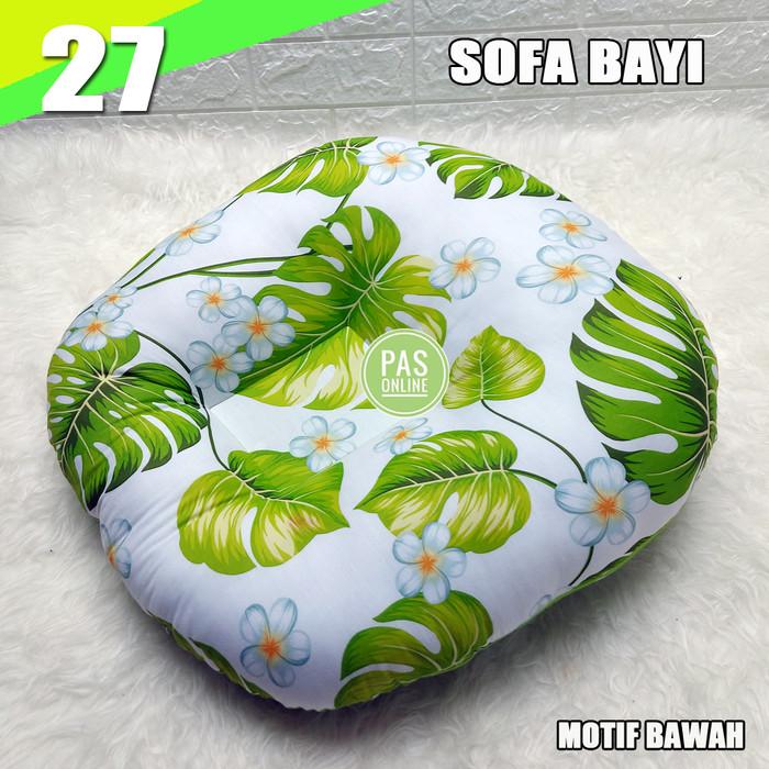 Foto Produk BANTAL SOFA BAYI / DUDUKAN BAYI / NEWBORN LOUNGUER - SOBAY 27 dari pondok aren shop
