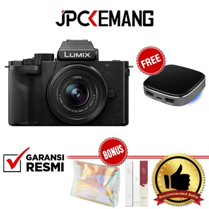 Foto Produk Panasonic Lumix G100 kit 12-32mm Lumix DC G100 Kamera GARANSI RESMI dari JPCKemang
