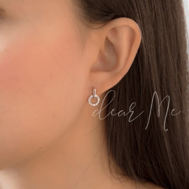 Foto Produk DearMe - THEA Earrings (S925 with 18K gold plating & Crystals) dari Dear Me Jewelry