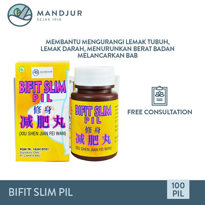 Foto Produk Bifit Slim Pil (Xiu Shen Jian Fei Wan) - Obat Penurun Berat Badan dari mandjur