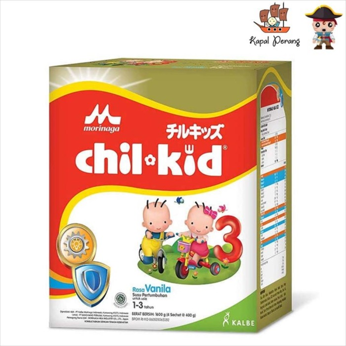 Foto Produk Morinaga Chil Kid Reguler 1600 gram Vanila (4 x 400 gram) dari Kapal Perang