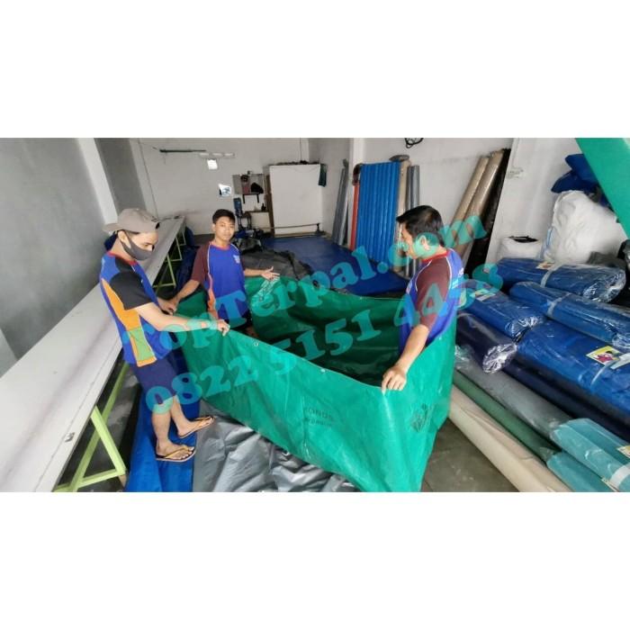 Foto Produk Terpal A 20 Untuk Kolam Ikan / Kolam Terpal Recommended Murah dari Top Terpal Surabaya