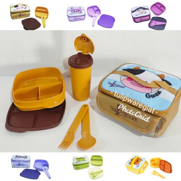 Foto Produk Paket Kidz Meal Set + Mini Multitumbler Tulipware dari TULIPWARE collection