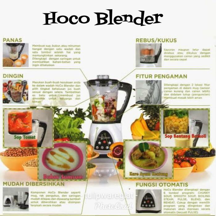 Foto Produk HOCO Blender Twin Tulipware dari TULIPWARE collection