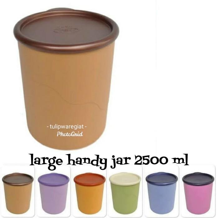 Foto Produk Large Handy Jar Twin Tulipware / Toples Kue 2.5 liter dari TULIPWARE collection