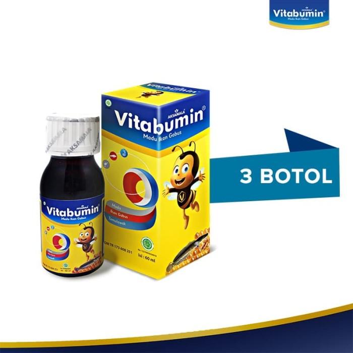 Foto Produk Vitabumin 60ml - 3 Pcs dari Official Vitabumin