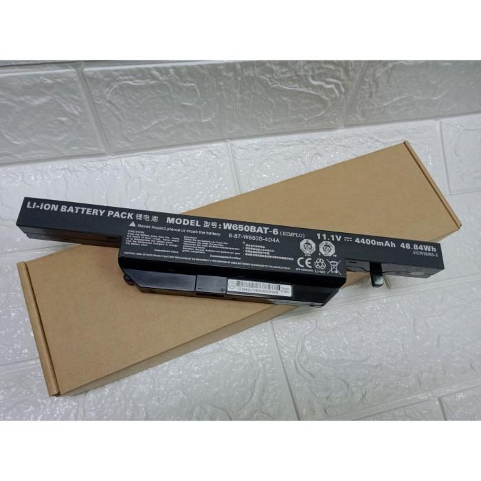 Jual Baterai Axioo Clevo W650 W650BAT-6 W650SJ 650D K610C Original -  Jakarta Pusat - baterai-adaptor | Tokopedia