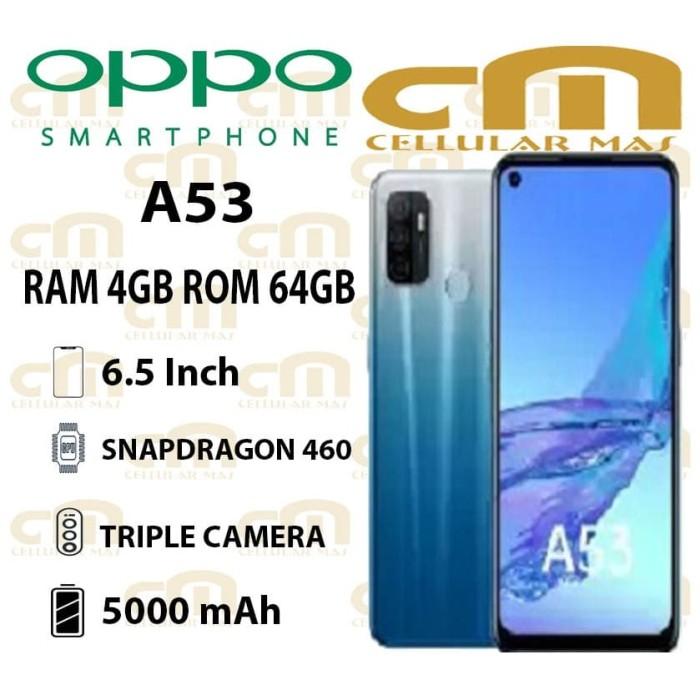 Foto Produk Oppo A53 4/64 RAM 4GB ROM 64GB GARANSI RESMI OPPO - Hitam dari Cellular Mas