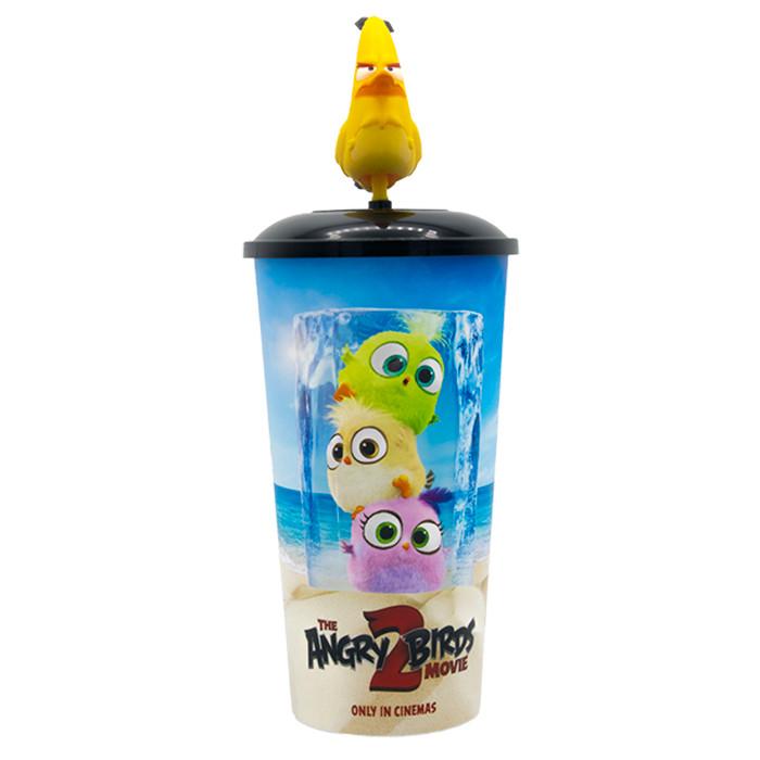 Foto Produk Cinepolis Tumbler CHUCK Yellow Angry Birds Movie Merchandise 22oz dari Cinepolis Indonesia