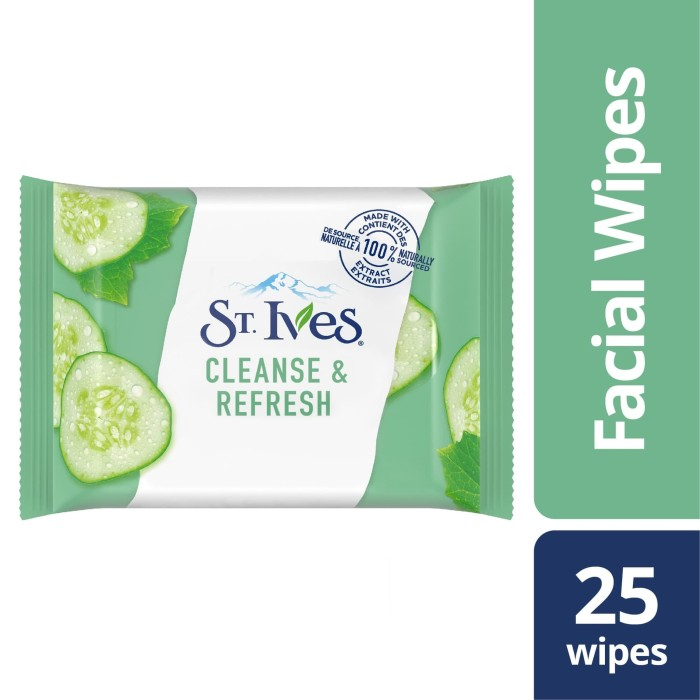 Foto Produk St Ives Cucumber Cleanse & Hydrate 25pc dari Unilever Official Store