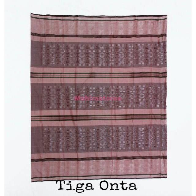 Foto Produk Sarung Tenun Dus murah tiga onta - Motif Horizon dari Mahira_storee