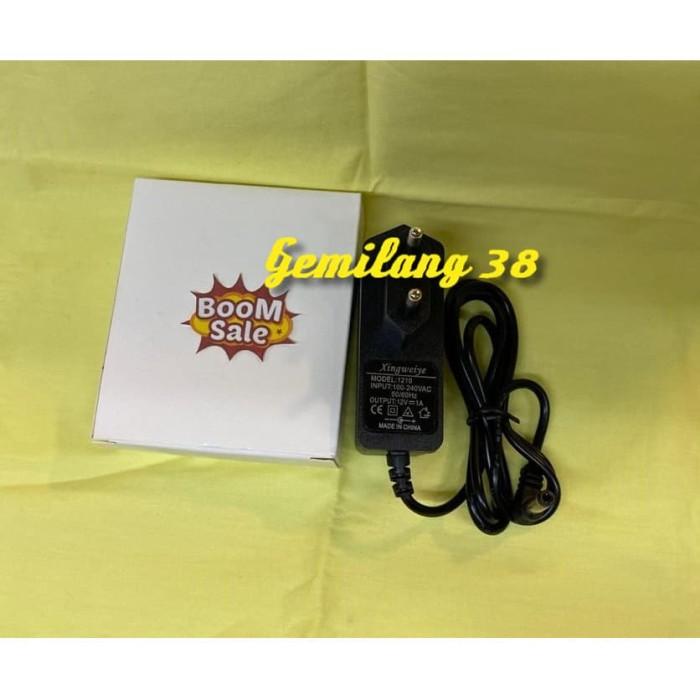 Foto Produk SALE!! AC DC 1A 12V BK 12 W Switching Adaptor Charger 12 V 1 A 12 Watt dari Gemilang 38