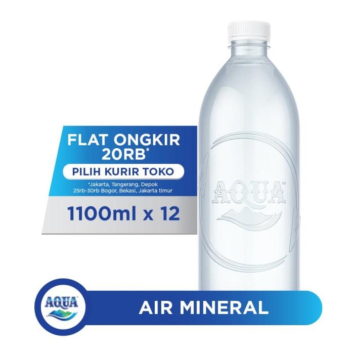 Foto Produk AQUA Life 1100ml Box (12 botol) dari AQUA Official Store
