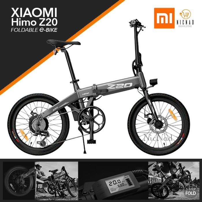 Jual Sepeda Listrik Lipat Xiaomi HIMO Z20 Elektrik Smart ...