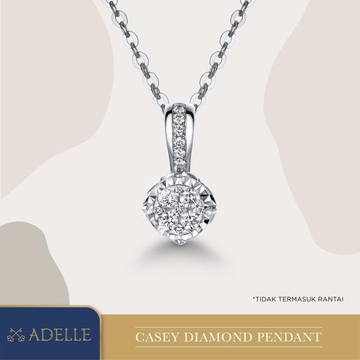 Foto Produk Casey Diamond Pendant - Liontin Berlian - Adelle Jewellery - White Gold dari Adelle Jewellery