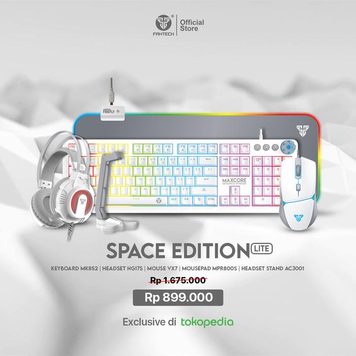 Foto Produk Fantech SPACE EDITION Fullset Keyboard Mouse Headset Mousepad Gaming - SE LITE, Blue Switch dari Fantech Official Store