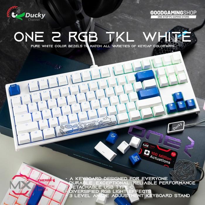Foto Produk Ducky One 2 RGB TKL White - Gaming Keyboard dari GOODGAMINGM2M