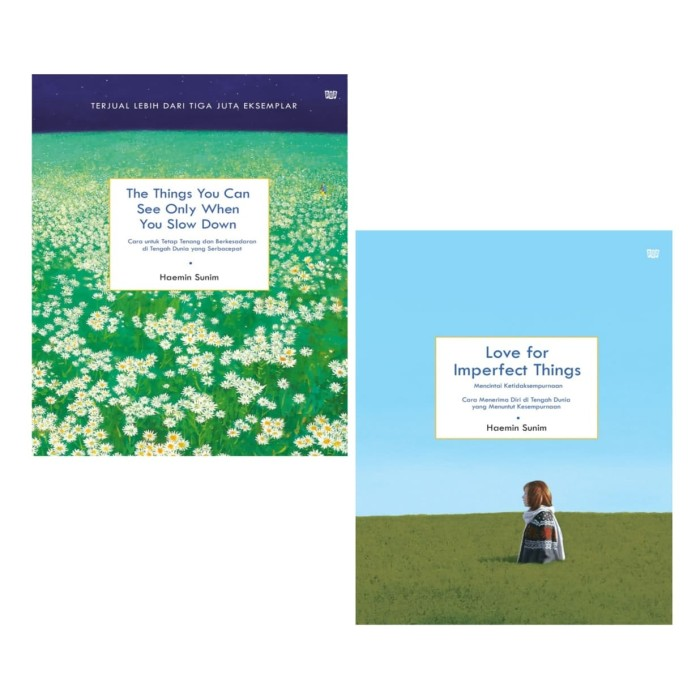Foto Produk Love for Imperfect & The Things You Can See Only When Haemin Sunim dari Showroom Books