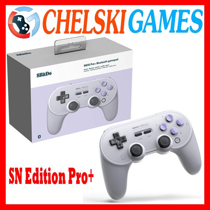 Foto Produk 8bitdo SN30 Pro+ Bluetooth Gamepad Switch Windows Android SN Edition - SN EDITION dari Chelski Games