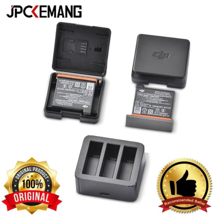 Foto Produk DJI Osmo Action Battery Charging Kit for DJI Osmo Action ORIGINAL dari JPCKemang