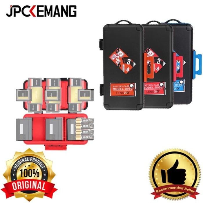 Foto Produk LensGo D950 Camera Battery and Memory Card Case dari JPCKemang