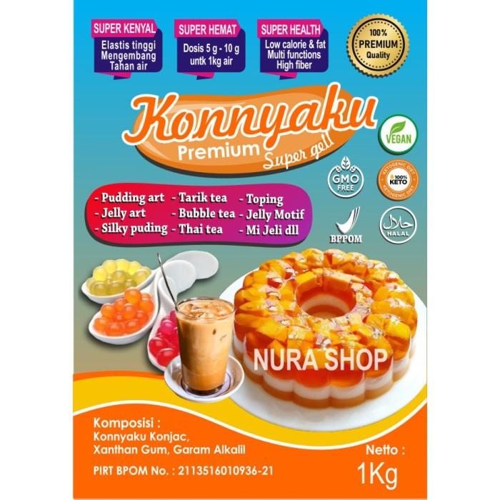 Jual Konyaku Konjac Premium Kab Malang Jtstoreselena Tokopedia