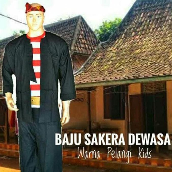 Jual Ready Stock Baju Sakera Adat Madura Promo Jakarta Barat Tofiqoh Tokopedia
