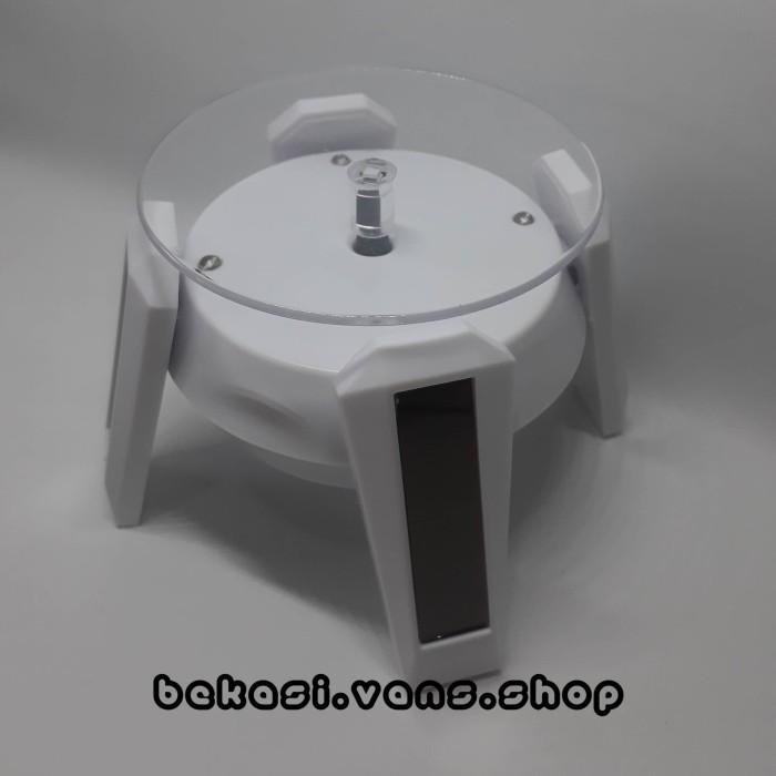 Foto Produk Stand Base Gundam Display Rotating Solar LED Action Figure dari Bekasi Vans Shop