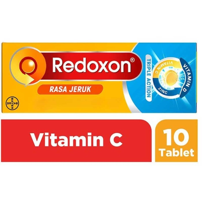 Foto Produk Redoxon Triple Action Orange 10s dari Alfacart Official Store