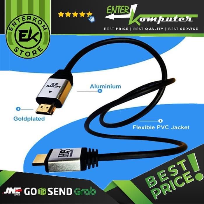 Foto Produk Kabel HDMI To HDMI V2.0 3D 4K 3 Meter (HINEIGHT(H8)) dari Enter Komputer Official