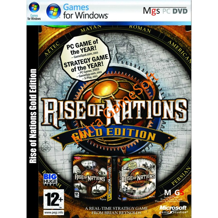 Jual Rise Of Nations Gold Edition Pc Cd Dvd Games Pc Game Pc Games Kota Bandung Mitra Gamesoft Tokopedia