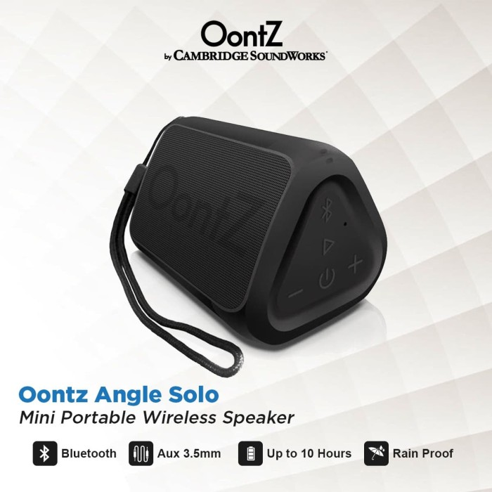 Foto Produk OontZ Angle solo Super Portable Bluetooth Speaker dari Oontz Official Store