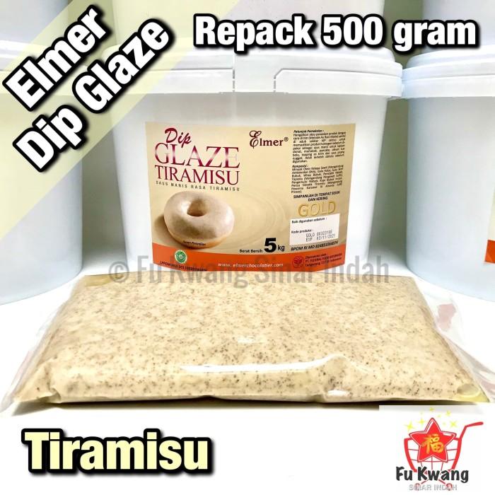 Foto Produk Elmer Dip Glaze Tiramisu repack 500 gram dari Fu Kwang Mart