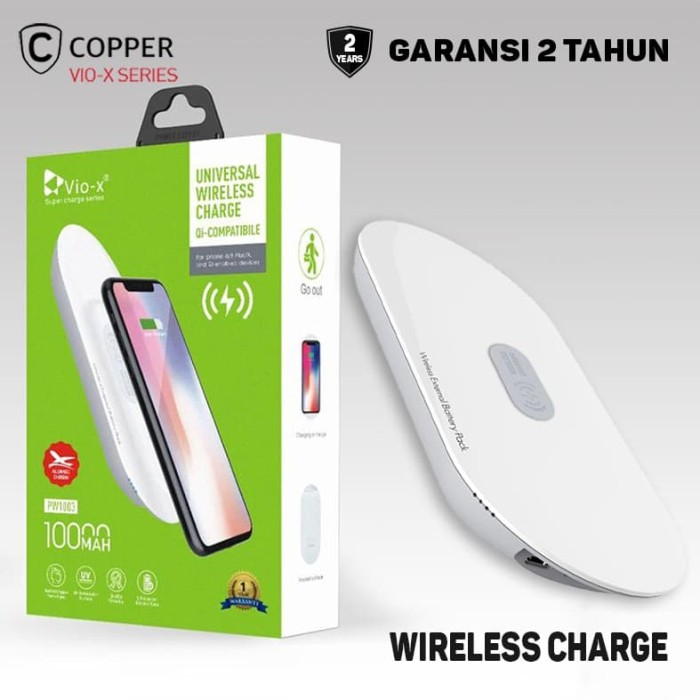 Foto Produk COPPER POWERBANK Wireless 10000 Mah dari Copper Indonesia