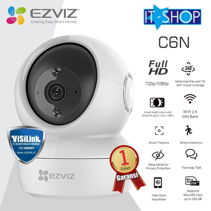 Foto Produk EZVIZ C6N 1080P Smart Wi-Fi Pan & Tilt Camera dari IT-SHOP-ONLINE