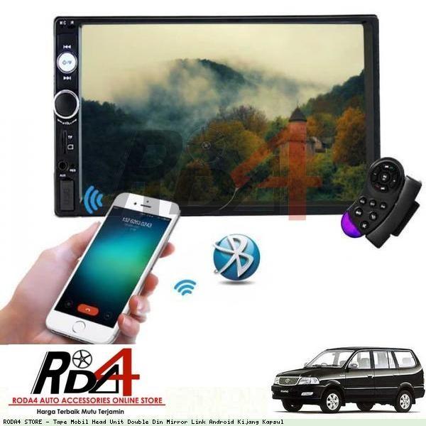Jual Tape Mobil Head Unit Double Din Mirror Link Android Kijang Kapsul Jakarta Pusat Roda4 Tokopedia