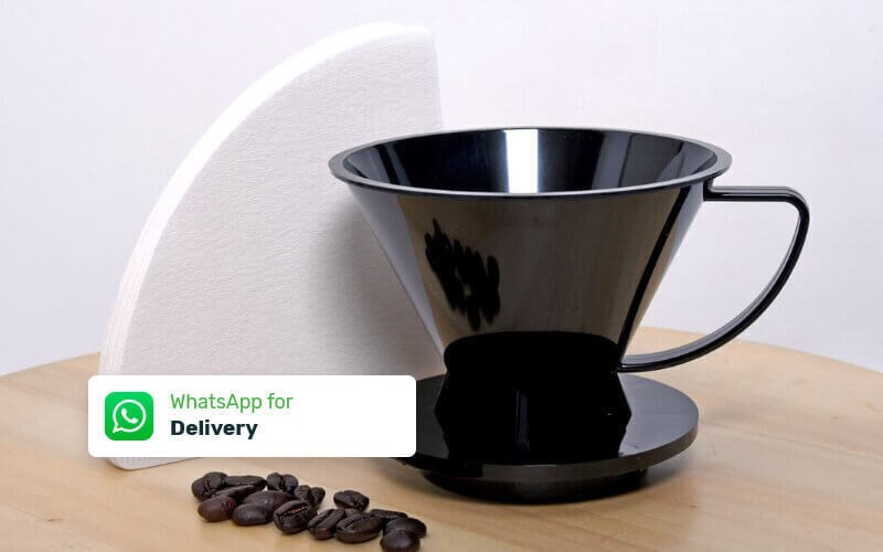 Pourover Dripper 02 + Paper Filter (100 Pcs) - Delivery