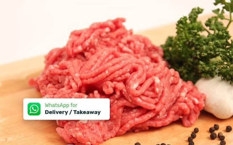 Minced Beef 15 - 20% Fats (500gr) - Delivery & Take Away