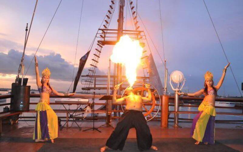 Denpasar Ticket Experience Pirates Dinner Cruise for Children