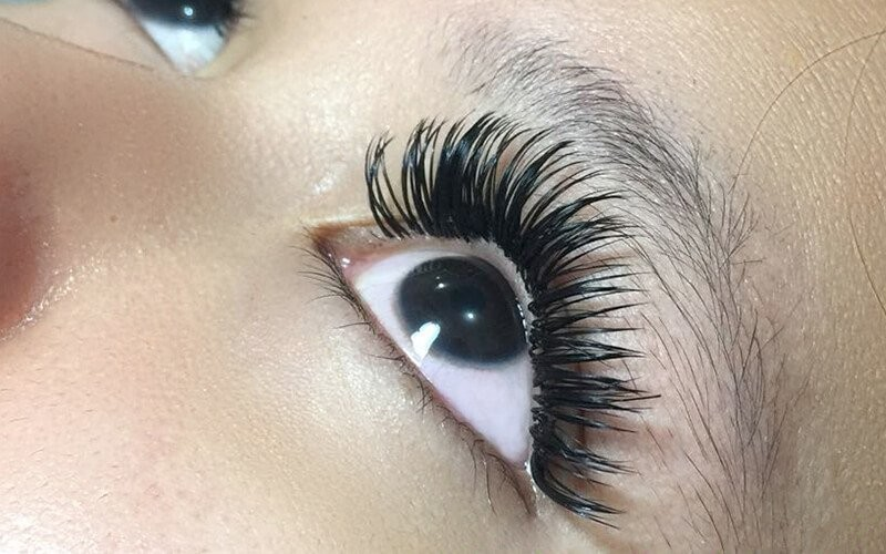 1x Double Eyelash Extension