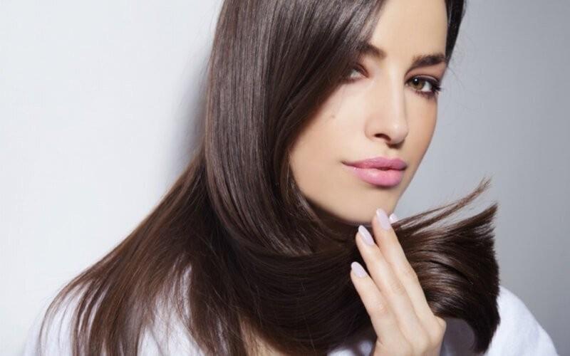 Medium / Short Silk Hair Smoothing + Vitamin + Blow Catok