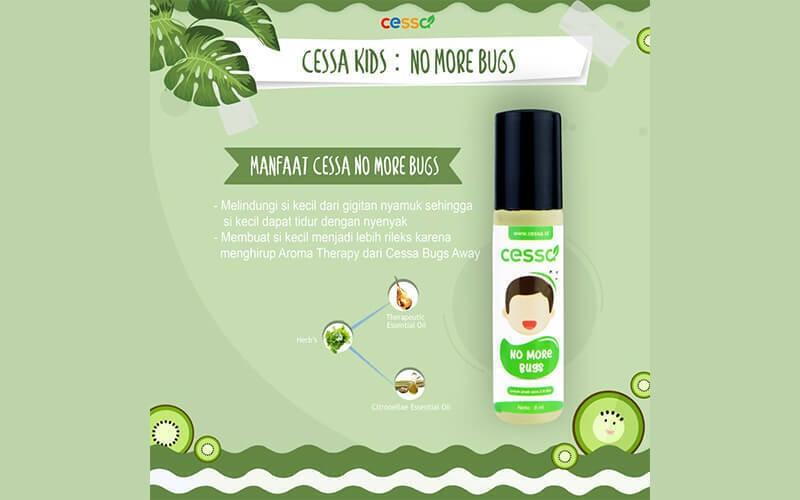 Free Delivery - Cessa Kids: Cessa Kids Bugs Away - Essential Oil Menjaga Dari Gigitan Nyamuk