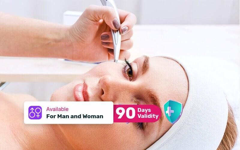 1x Luxury Meso-Whitening Face Treatment + Diamondbrasion + Diamond Peel