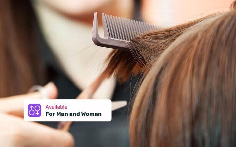 1x Hair Cut + Wash + Blow Style + Vitamin