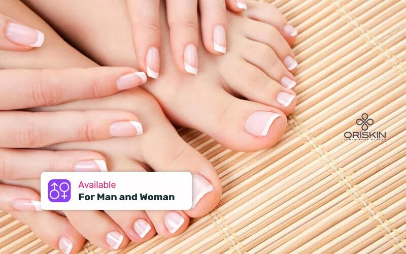 1x Manicure + Pedicure + Nail Polish